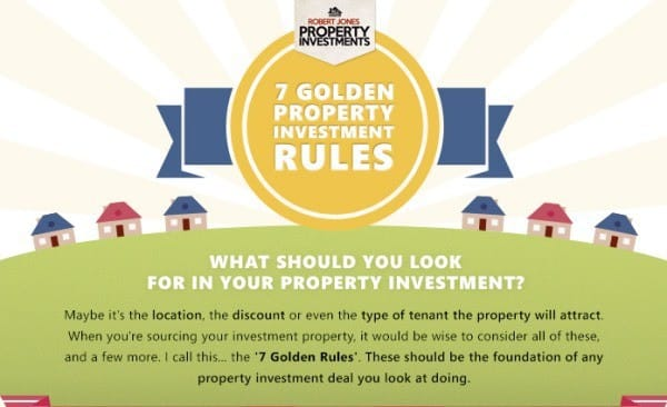 7 Golden Rules to Property Investment Header - Property Education