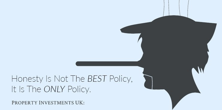Honesty is not the best policy, it is the only policy. Honesty in property joint ventures