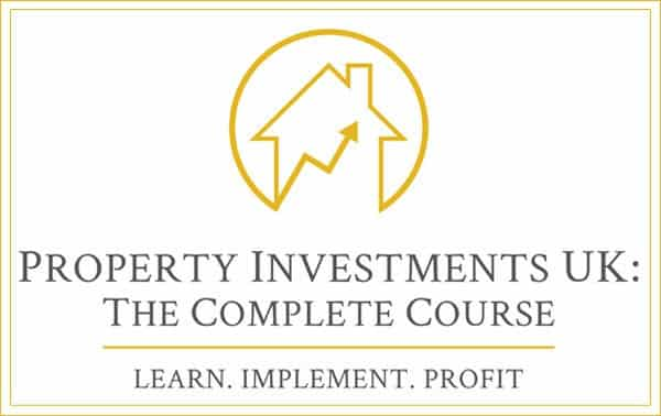 Property Investments UK Logo Gold. Learn Implement Profit. How to Invest in Property
