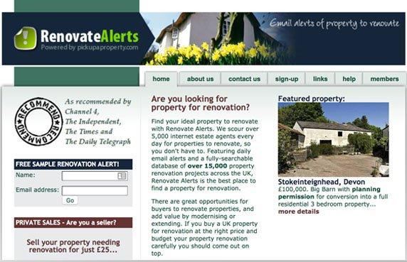 Renovate Alerts screen shot